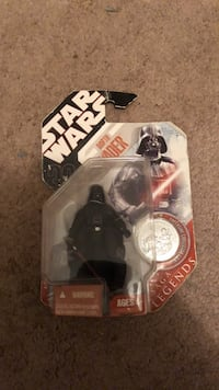 Star Wars Darth Vader 30th Anniversary Saga Legends w/ Exclusive Collector Coin Moweaqua, 62550