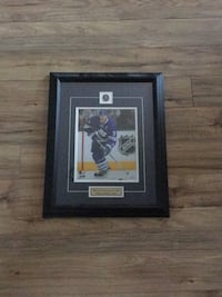 Hockey player poster with black wooden frame St Catharines, L2P 3E1