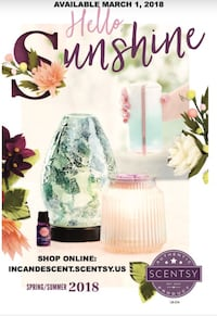 Certified Scentsy Consultant please CONTACT  Calgary, T3M