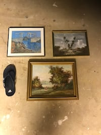 Three Small Paintings - Price set for indivudal paintings Baltimore, 21212