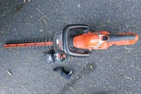 black and red Black & Decker hedge trimmer Seattle, 98144