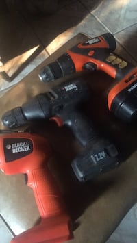 Black and decker drills Stockton, 95205