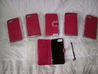 Hot pink iphone/wallet fits iphone6/7/8 plus Newland, 28657