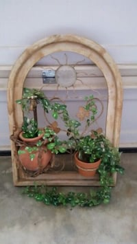 brown wooden framed wall mirror Moreno Valley, 92557