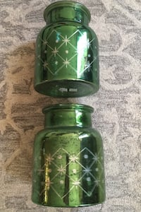 Pottery Barn Antique-Style Mercury Glass Jars / Vases Springfield, 22152