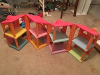 toddler's pink, green, and blue doll house set Strasburg, 22657
