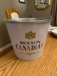 MOLSON CANADIAN BEER PAIL North Dumfries, N0B 1E0
