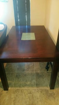 Dining Table Chocolate Brown