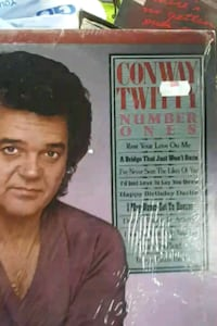 "Conway Twitty's ""Number Ones"" vinyl album La Plata, 20646"