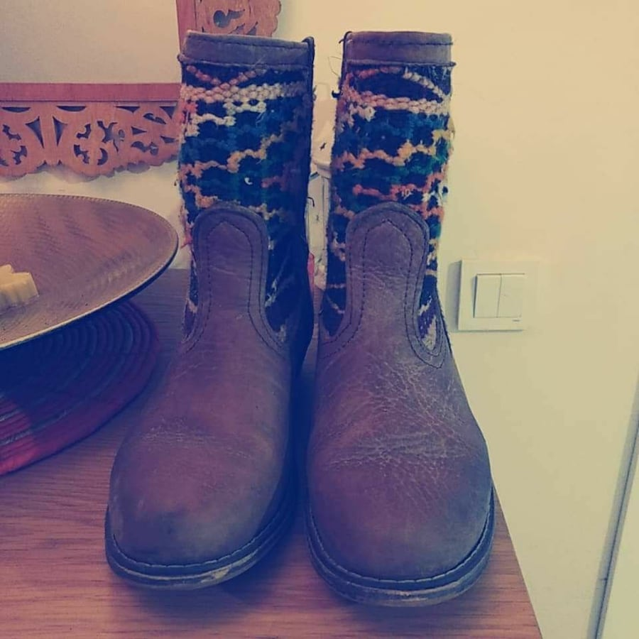 Moroccan boots. Size 41.
