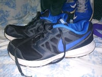 pair of black-and-blue running shoes San Antonio, 78228