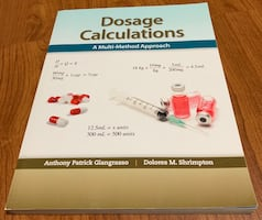 Nursing school Dosage Calculations book
