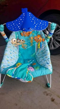 baby's blue and green bouncer Chowchilla, 93610