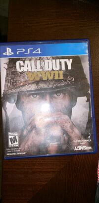 Sony ps4 call of duty wwii game