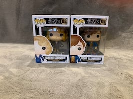 Harry Potter - Fantastic Beasts and Where to Find Them Funko Pop - Newt Scamander & Queenie Goldstein