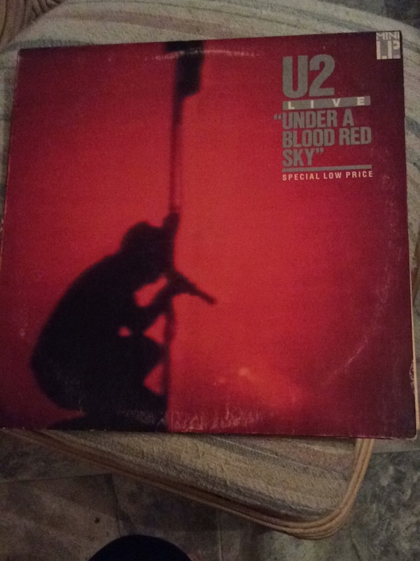 U2 Live - Under a Blood Red Sky Vinyl Album