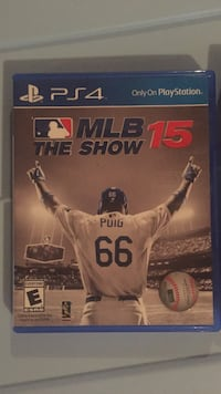Sony PS4 MLB The Show 15 case Culpeper, 22701
