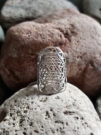 925 Sterling Silver Filigree Ring - Available in Sizes 7 & 9 Burlington, L7L 7J4