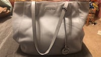 Michael Kors Purse Light Blue Leather Like New