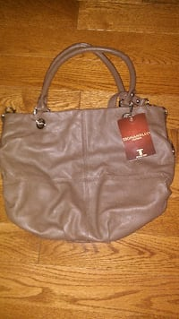 New with tag.brown %100 leather Tiganello shoulder bag
