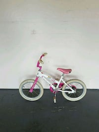 toddler's white and pink bicycle Manassas, 20112