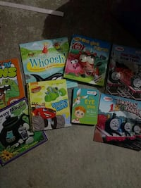 six assorted story books collection Vaughan, L4H 3G3