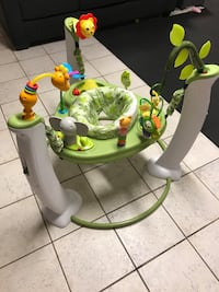 Evenflo ExerSaucer Jump & Learn safari friends (Very Clean) Toronto, M8W