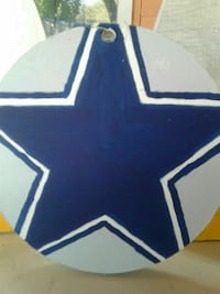 gray and blue star printed decor Brownsville, 78521