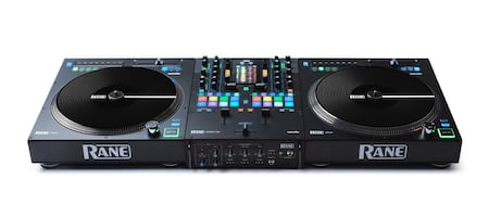 Rane 72 mixer and 2 12 turntables