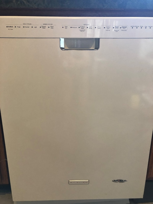 Kitchen aide dishwasher.  Needs some repair possibly pump. five years old upgrading to black stainless appliances. Need gone by Wednesday   660c6be4-aa9b-4b53-820b-ca37a4c91eea