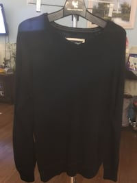 black scoop neck long sleeve shirt Fredericton, E3G 0Y4