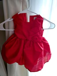 Red Baby Dress Sacramento, 95827