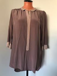 Aritzia Wilfred Silk Tunic Size Medium  Surrey