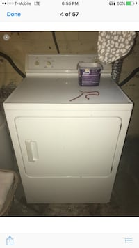 white front-load clothes washer Youngstown, 44515