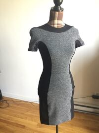 Brand new H&M black and gray classy dress in xsmall/small Montréal, H1M 1S1