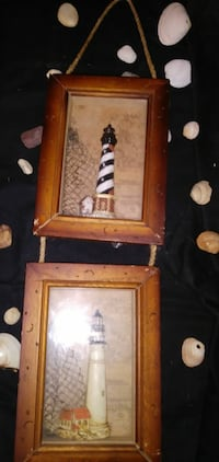 Wall Hanging of light houses