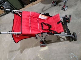 guc umbrella stroller red $5 well loved blue and green $1 see pic 3