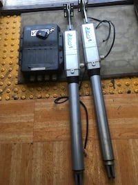 two Viper steel stands