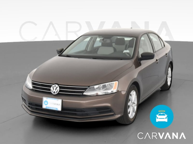 2015 VW Volkswagen Jetta sedan 1.8T SE Sedan 4D Brown  0