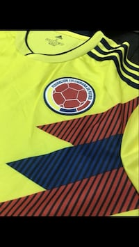 yellow, red, and blue jersey Miami, 33193