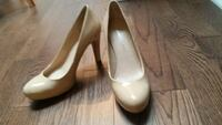 White patent leather pumps Montreal, H4C 2G9