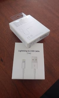 New iPhone charging cable lightning to USB cable  Toronto, M9M