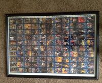 Framed 2002/03 Topps Basketball uncut sheet. Las Vegas, 89147