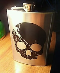 AWESOME SKULL FLASK West Fargo