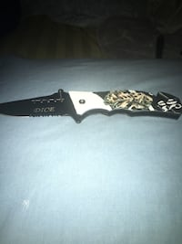 Black stainless 2 inch pocket knife  Washington, 20001