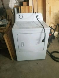 white front-load clothes dryer Toronto, M3H 2Y6