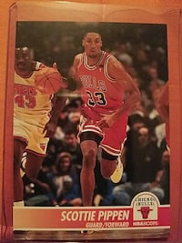 Chicago Bulls Scottie Pipen Guard/Forward NBA Hoop