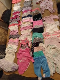 74 pieces of baby clothing for 30.00 Palmdale