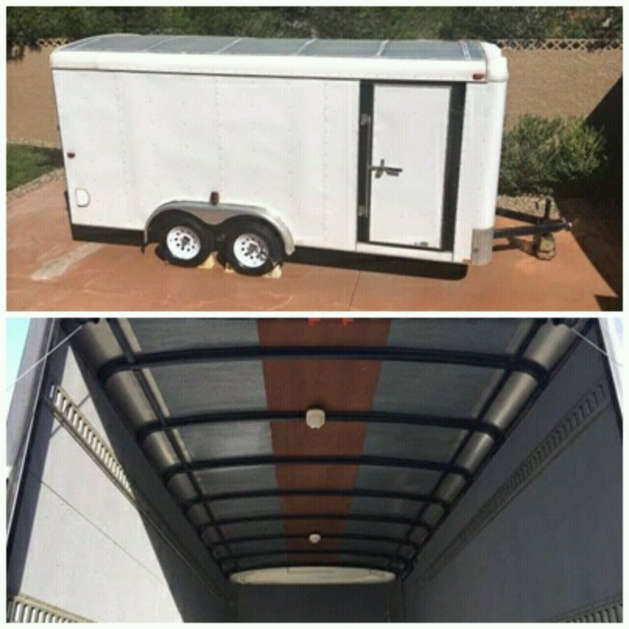 2004 Trailer 16 X 7 White Loadrunner