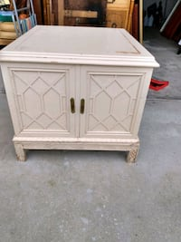 Thomasville Chinese Chippendale Style End Table